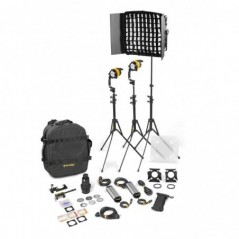 Dedolight - BLED2X1-D-S-E - 3 LIGHT KIT - DAYLIGHT AC (STANDARD) from DEDOLIGHT with reference BLED2x1-D-S-E at the low price of