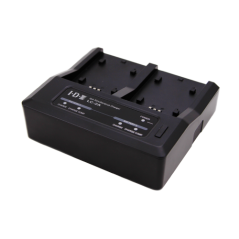 Idx - LC-2A - 2 CHANNEL SIMULTANEOUS CHARGER FOR CANON- PANASONIC AND SONY BATTERIES from IDX with reference LC-2A at the low pr