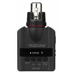 Tascam - DR-10X - PLUG-ON MICRO LINEAR PCM RECORDER FOR XLR CONNECTION from TASCAM with reference DR-10X at the low price of 125