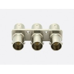 Canare - BCJ-BPLH3PA (10 PCS) - 75 OHM BNC PCB MOUNT RECEPTACLE- TRIPLE TYPE from CANARE with reference BCJ-BPLH3PA (10 pcs) at