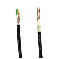 Canare – RJC6-4P+ 305M BLACK, GRAY – CAT6 STANDARD UTP CABLE