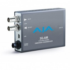 Aja - 3G-AM-BNC - 3G-SDI 8-CHANNEL AES EMBEDDER-DISEMBEDDER- BAL. BNC- USB MINI-CONFIG SUPPORT from AJA with reference 3G-AM-BNC