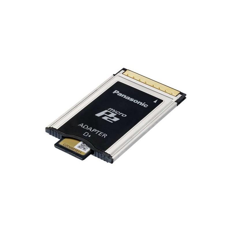 PANASONIC – AJ-P2AD1G – MICROP2 MEMORY CARD ADAPTER