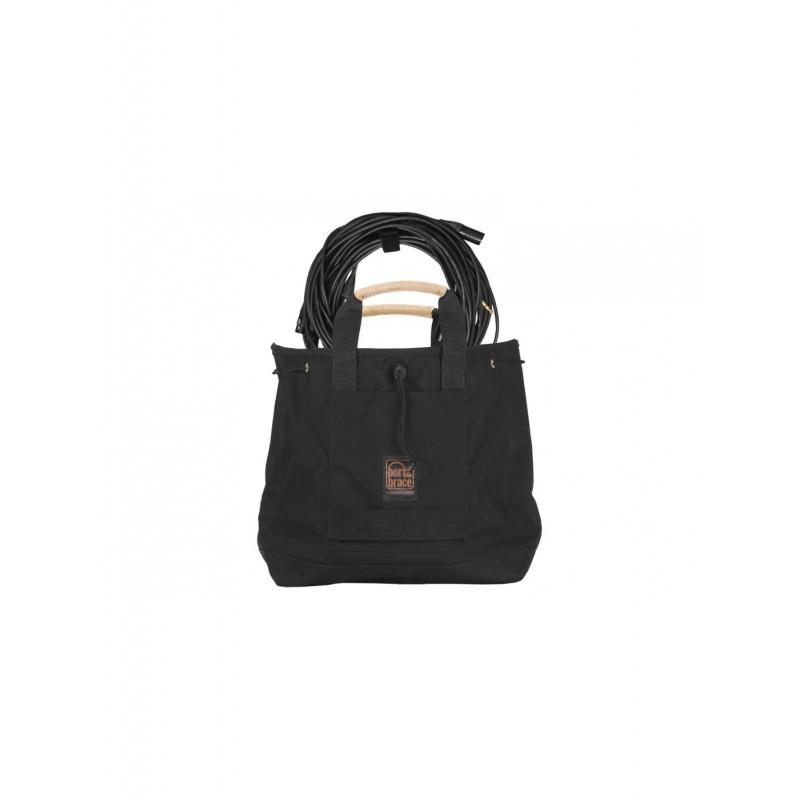 Portabrace – CABLE-BAG2 – SACK-STYLE CARRYING CASE & POUCH – PRODUCTION CABLES & CONNECTORS – MEDIUM – BLACK