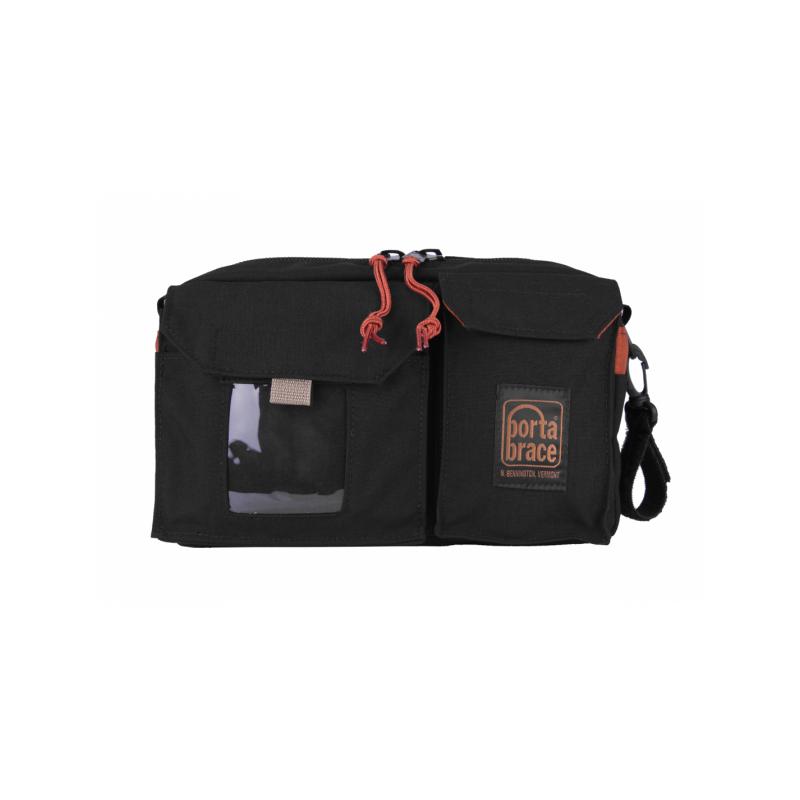 Portabrace – GRIP-PACK1 – WAIST PACK FOR GRIP ACCESSORIES – BLACK – SMALL