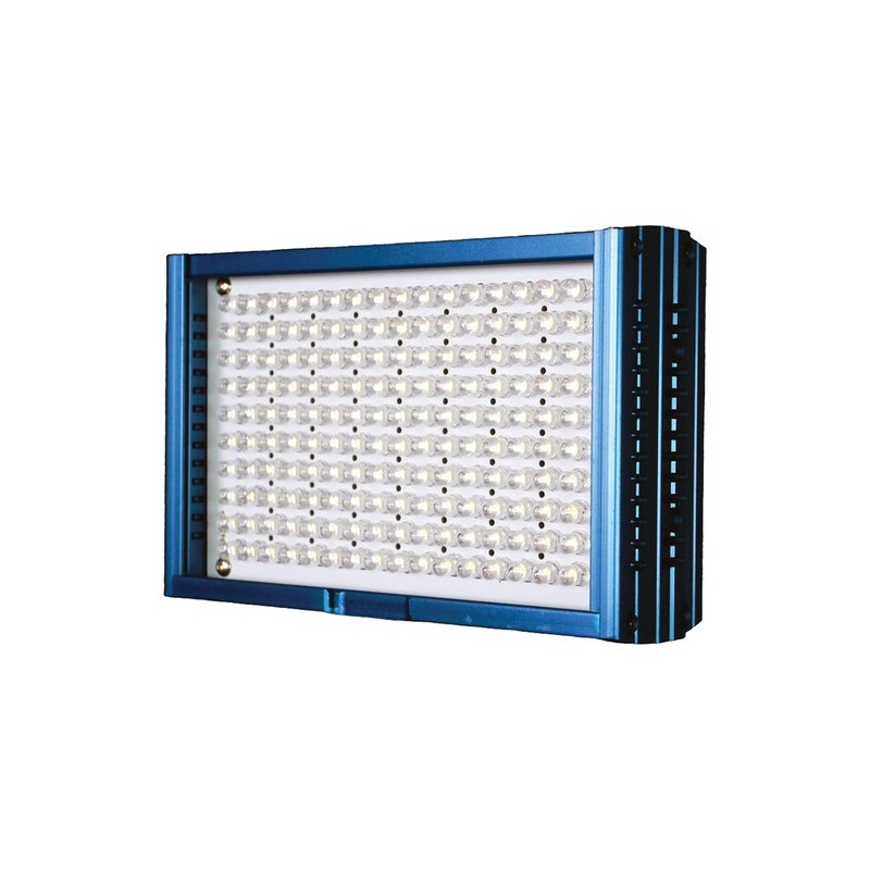 Dracast – DRLED160ACOM – PRO SERIES LED 160 ALUMINUN DAYLIGHT W/ BATTERY AND BATTERY CHARGER