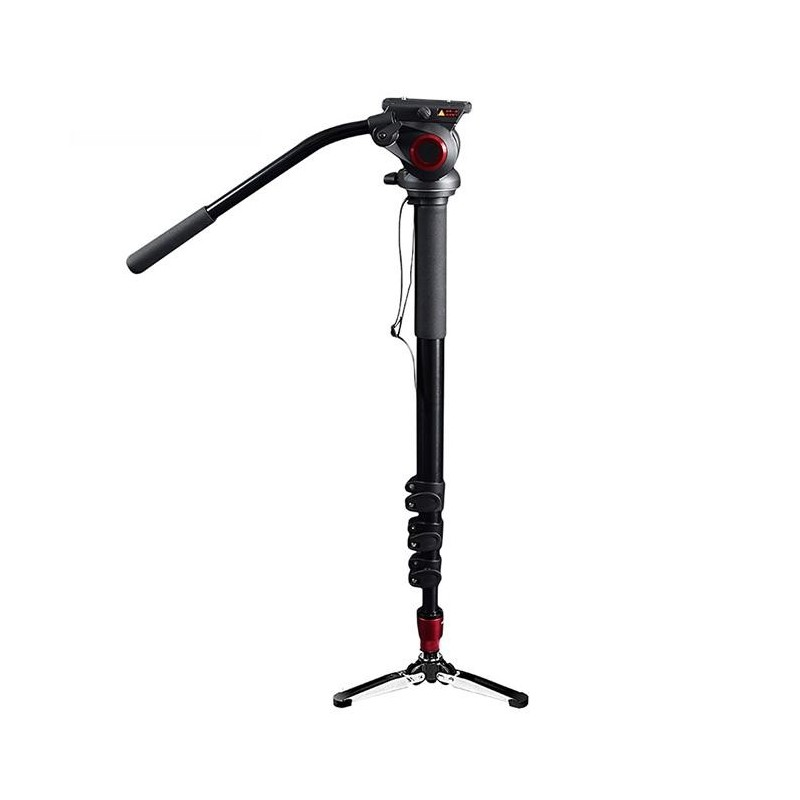 Came-TV – TP705A – ALUMINUM MONOPOD WITH PIVOTING FOOT STAND 705A
