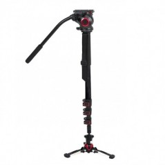 Came-TV – TP705BS – CARBON FIBER MONOPOD WITH PIVOTING AND LOCKABLE FOOT STAND 705BS