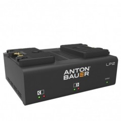 Anton Bauer - LP2 DUAL GOLD MOUNT CHARGER - LP SERIES PERFORMANCE CHARGERS 8475-0125 from ANTON BAUER with reference LP2 DUAL GO
