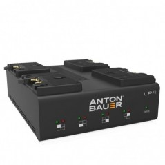 Anton Bauer - LP4 QUAD GOLD MOUNT CHARGER - LP SERIES PERFORMANCE CHARGERS 8475-0126 from ANTON BAUER with reference LP4 QUAD GO