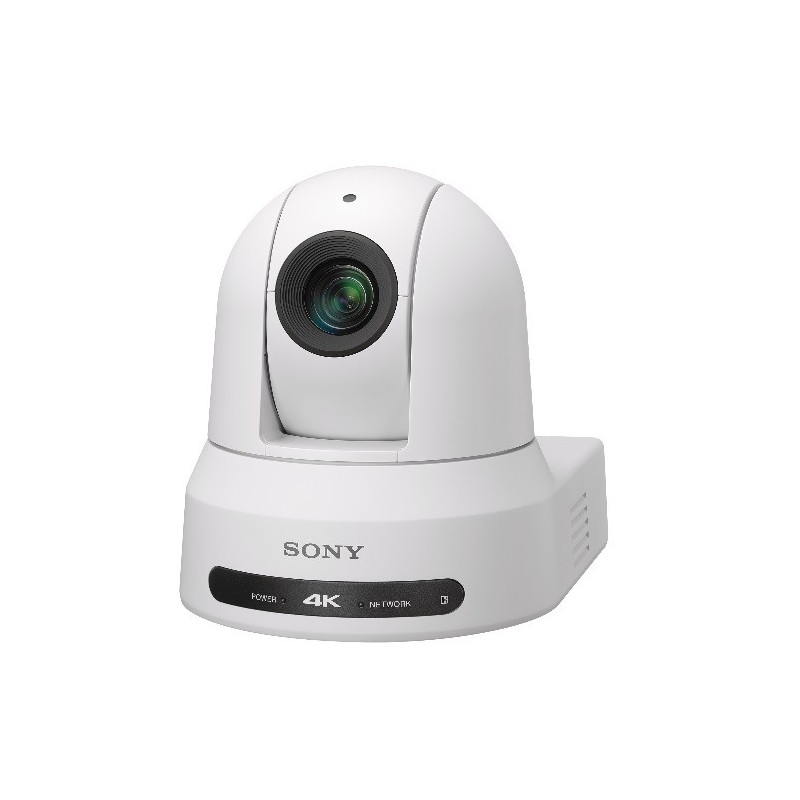 Sony – BRC-X400/W – IP 4K PAN-TILT-ZOOM CAMERA WITH NDI|HX* CAPABILITY – WHITE COLOR INCLUDES AC ADAPTOR