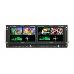 """PLURA PBM-209DRK-3G from PLURA with reference PBM-209DRK-3G at the low price of 3500. Product features: 4 x 4"""" 3G Broadcast Moni"""