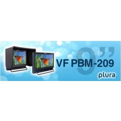 """PLURA PBM-209VF-3G from PLURA with reference PBM-209VF-3G at the low price of 1945. Product features: 9"""" - 3G VF Monitor, Packag"""