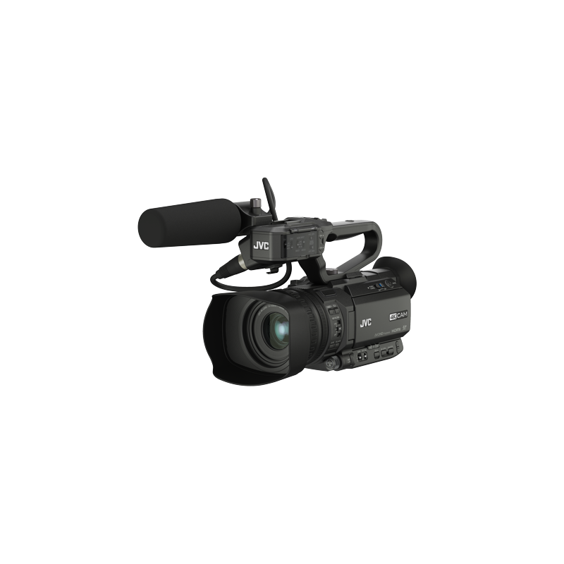 JVC - GY-HM180E - Compact 4K camcorder with 3G-SDI - 1