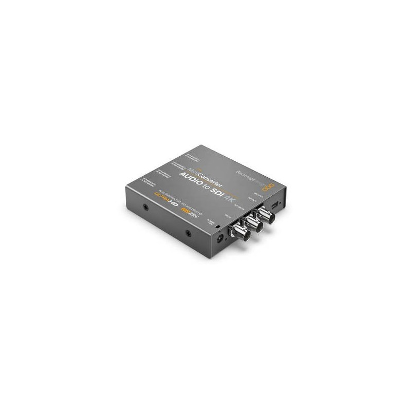 Blackmagic Design Mini Converter Audio to SDI 4K from BLACKMAGIC DESIGN with reference CONVMCAUDS4K at the low price of 242.25.