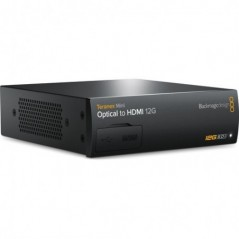 Blackmagic Design Teranex Mini Optical to HDMI 12G Converter from BLACKMAGIC DESIGN with reference CONVNTRM/MA/OPTH at the low p