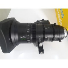 Used Fujinon 14-35 (used) - CINEMATOGRAPHY LENS from FUJINON with reference 14-35 (used) at the low price of 0. Product features