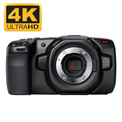 Blackmagic Pocket Cinema Camera 4K from BLACKMAGIC DESIGN with reference CINECAMPOCHDMFT4K at the low price of 989. Product feat