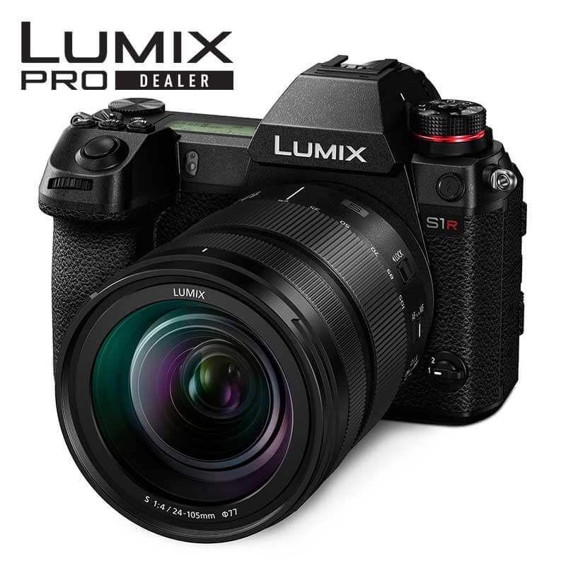 Panasonic DC-S1RM Lumix S1R 24-105 Full Frame DSLM Camera - 1