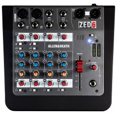 ZED-6 Compact Mixer from Allen&Heath with reference ZED6X at the low price of 83.6. Product features: The ZED-6 was created for