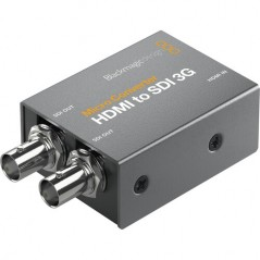 Blackmagic Design Micro Converter HDMI to SDI 3G from BLACKMAGIC DESIGN with reference CONVCMIC/HS03G at the low price of 37.05.