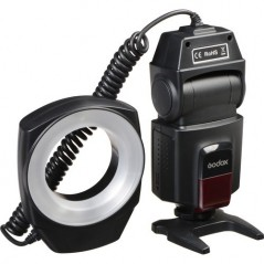 Godox ML150 Macro Ring Flash from GODOX with reference ML-150 at the low price of 58. Product features: Compatible with DSLR Hot