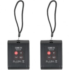 CAME-TV Mini 99 Lightweight V-Mount Battery (2-Pack) from CAME TV with reference MINI99-2PACK at the low price of 229.13. Produc