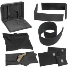 Portabrace – PB-1560DKO – PREMIUM PADDED DIVIDER KIT INTERIOR – FITS PELICAN 1560 – BLACK from  with reference PB-1560DKO at the