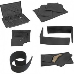 Portabrace - PB-1650DKO - PREMIUM PADDED DIVIDER KIT INTERIOR - FITS PELICAN 1650 - BLACK from PORTABRACE with reference PB-1650