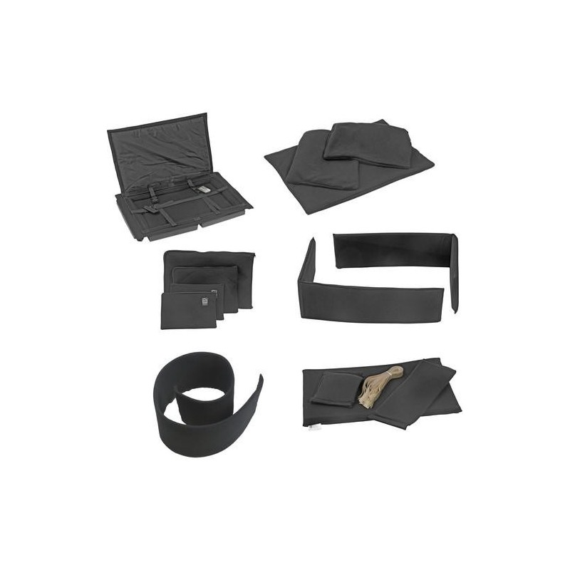 Portabrace – PB-1650DKO – PREMIUM PADDED DIVIDER KIT INTERIOR – FITS PELICAN 1650 – BLACK