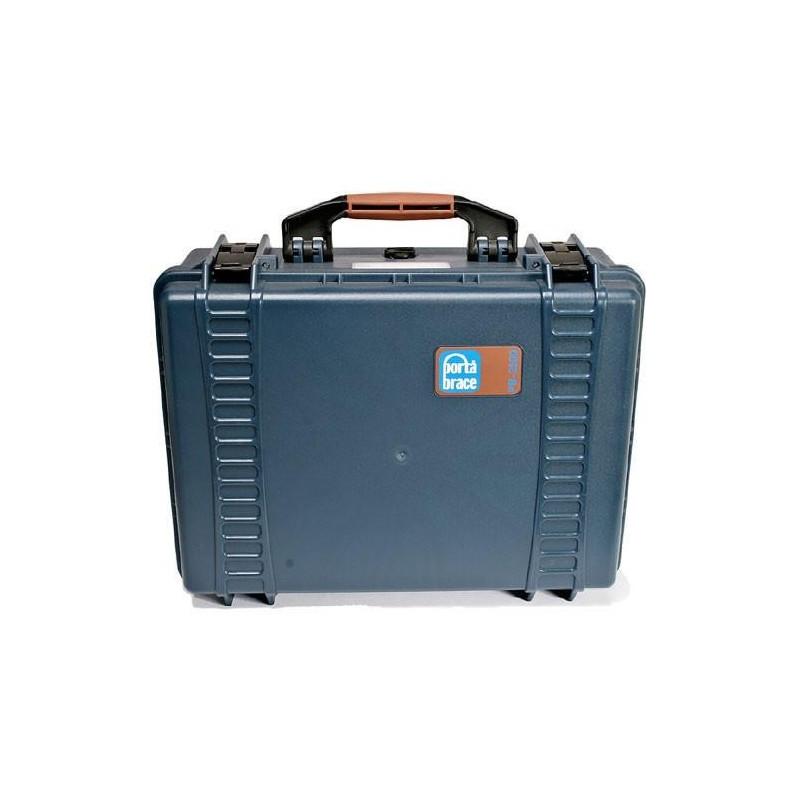Portabrace – PB-2300F – HARD CASE – FOAM INTERIOR – AIRTIGHT – EXTRA-SMALL – BLUE