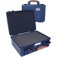 Portabrace – PB-2500F – HARD CASE – FOAM INTERIOR – AIRTIGHT – MEDIUM – BLUE