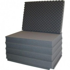Portabrace - PB-2600FO - INTERIOR REPLACEMENT FOAM - FITS PB-2600 HARD CASE - GREY from PORTABRACE with reference PB-2600FO at t