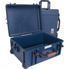Portabrace - PB-2650E - HARD CASE WITH WHEELS - AIRTIGHT - LARGE - BLUE from PORTABRACE with reference PB-2650E at the low price