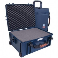 Portabrace - PB-2650F - HARD CASE WITH WHEELS - FOAM INTERIOR -AIRTIGHT - LARGE - BLUE from PORTABRACE with reference PB-2650F a