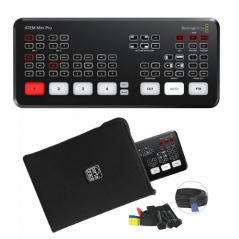Blackmagic Atem Mini Pro + Bag Bundle from  with reference pbbundle2atempro at the low price of 530. Product features: