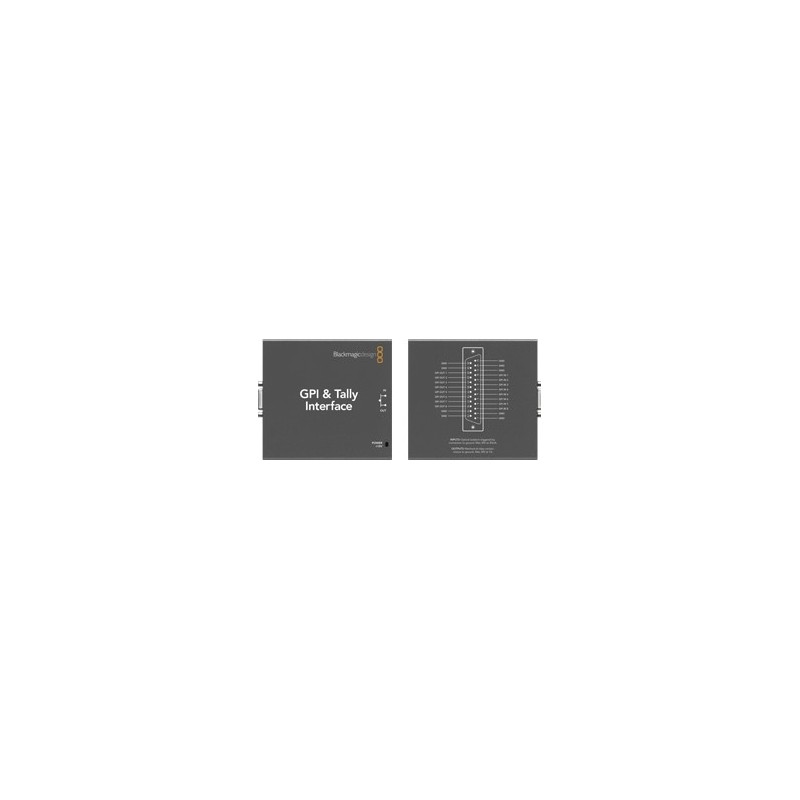 Blackmagic Design Swtalgpi8 Gpi And Tally Interface