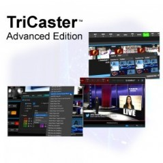 TCXDADVANCED - TRICASTER ADVANCED EDITION FOR TRICASTER 8000 860 460 410 AND MINI MULTI-STANDARD from NEWTEK with reference TCXD