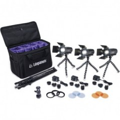 Litepanels - CALIBER 3-LIGHT KIT - 909-1001 from LITEPANELS with reference CALIBER 3-LIGHT KIT at the low price of 765. Product