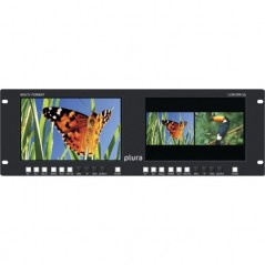 """PLURA LCM-209-3G from PLURA with reference LCM-209-3G at the low price of 2299. Product features: Dual 9"""" or Quad 5""""- 3G Rackmou"""