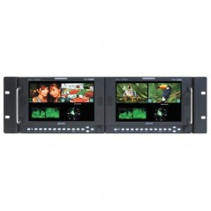 """PLURA PBM-307DRK-3G from PLURA with reference PBM-307DRK-3G at the low price of 3291. Product features: 4 x 4"""" 3G Broadcast Moni"""