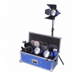 Arri - L0.36700.B - ARRILITE 750 PLUS- 3 TUNGSTEN LIGHTING KIT - WITH WHEELS from ARRI with reference L0.36700.B at the low pric