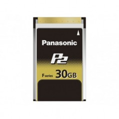 PANASONIC – AJ-P2E030FG – 30 GB F SERIES P2 CARD