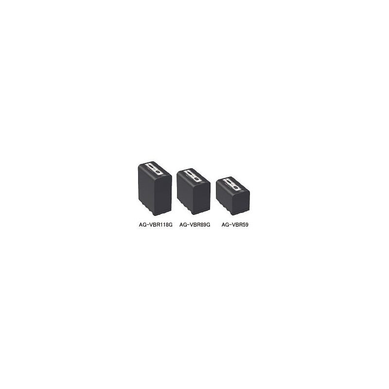 PANASONIC – AG-VBR59E – BATTERY PACK 5900MAH (43WH)