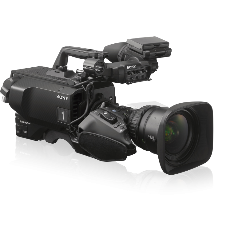 Sony – HDC-4800 – S35MM CMOS STUDIO CAMERA, 4K 8X UHFR AND HD 16X UHFR