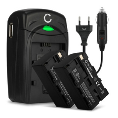 Batteries And Batteries Charger